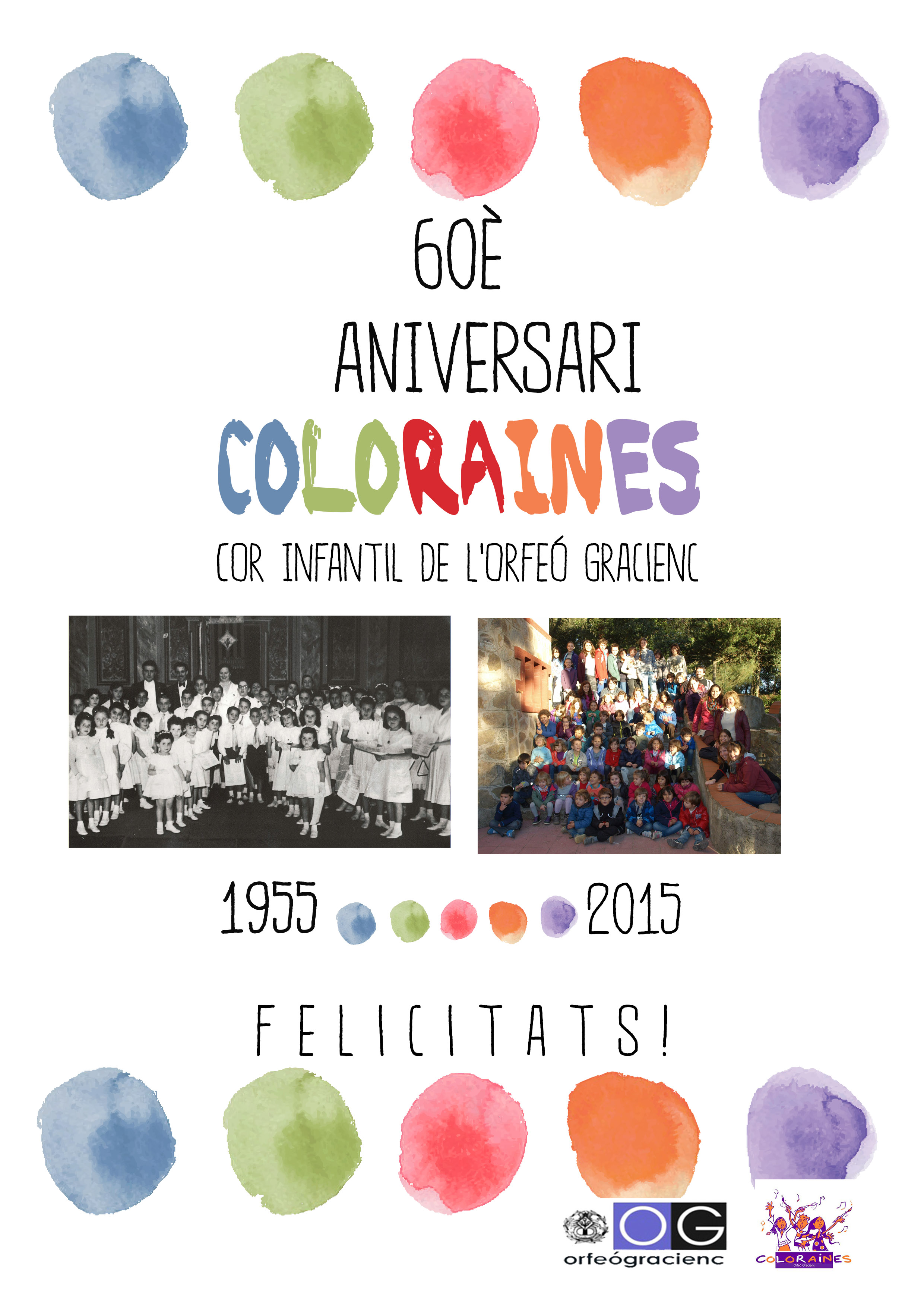 2015 60 aniv coloraines 2015